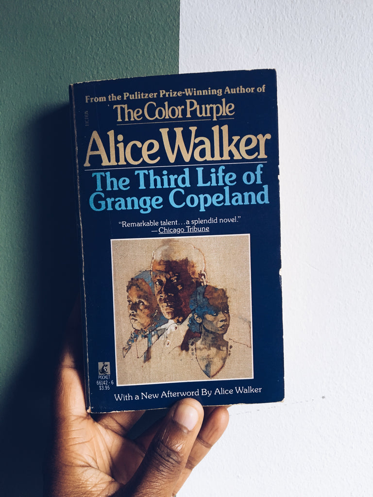"Vintage Paperback ""The Third Life Of Grange Copeland"" by Alice Walker (1988 Edition)"