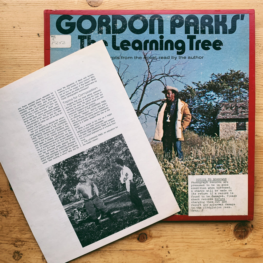 "Vintage ""Gordon Parks: The Learning Tree"" 2x Vinyl Record + Booklet (1969)"