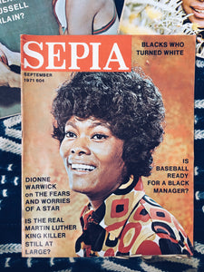 Vintage Sephia Magazine Issues
