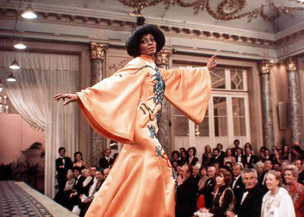 "Vintage Diana Ross in ""Mahogany"" Press Photo (1975)"