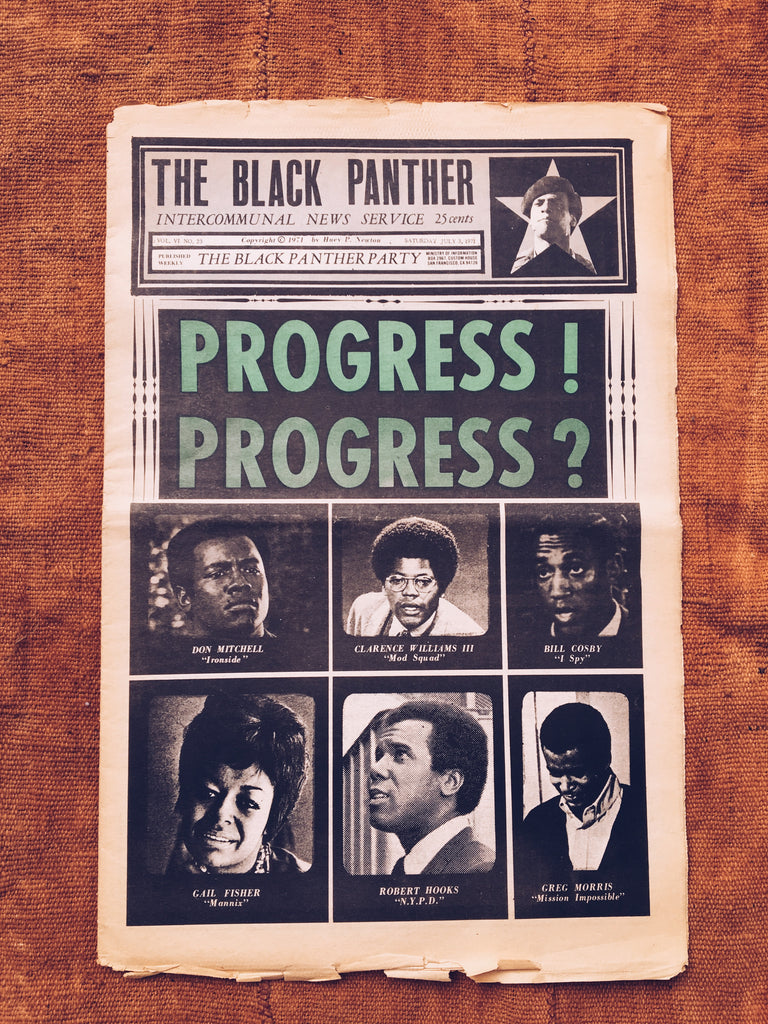 Original Black Panther Party Newspaper (July 1971)