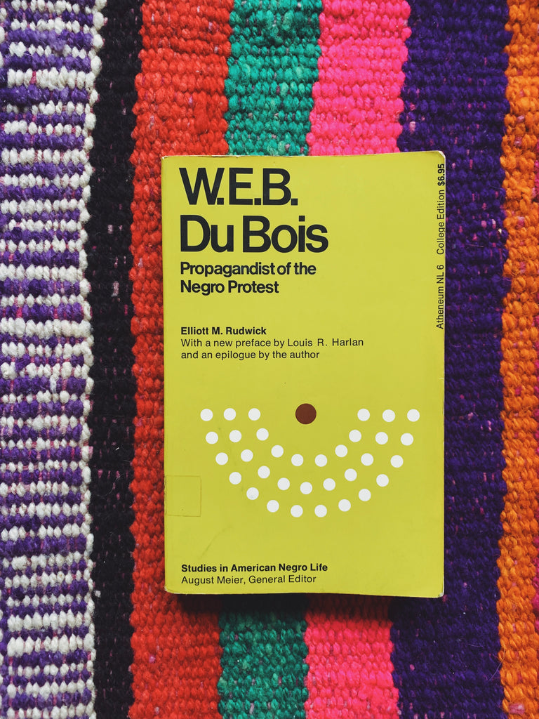 "Vintage Softcover ""WEB DuBois: Propagandist of the Negro Protest"" by Elliot Rudwick (1968)"