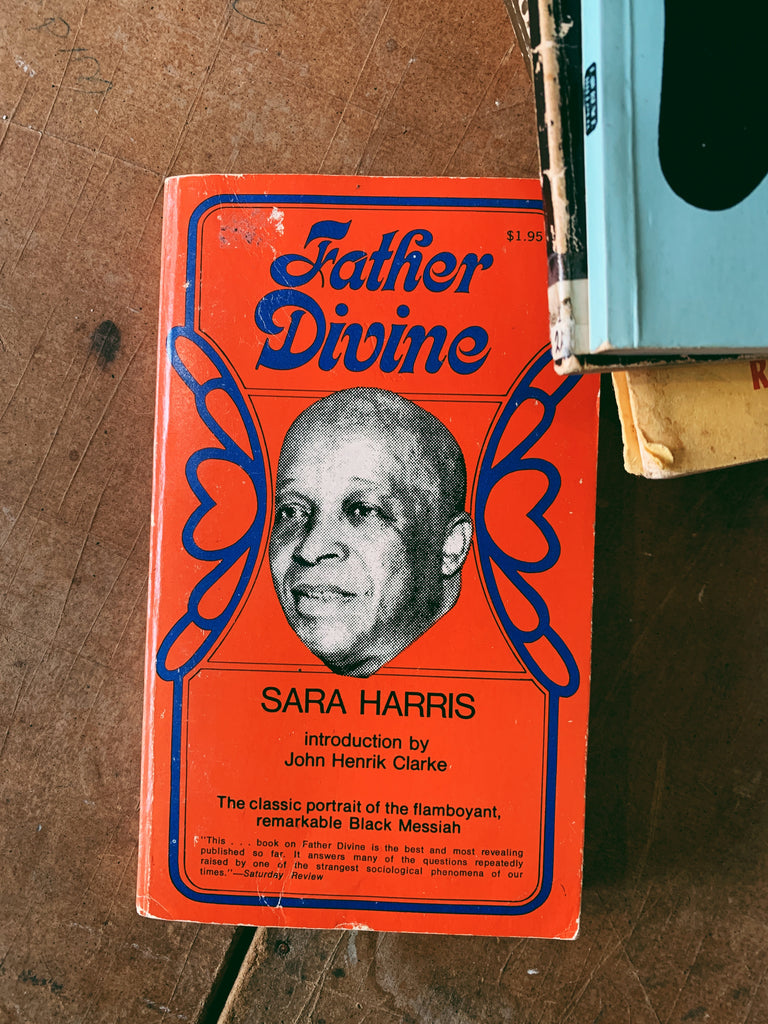 "Vintage Softcover ""Father Divine"" by Sara Harris (Second Edition, 1971)"