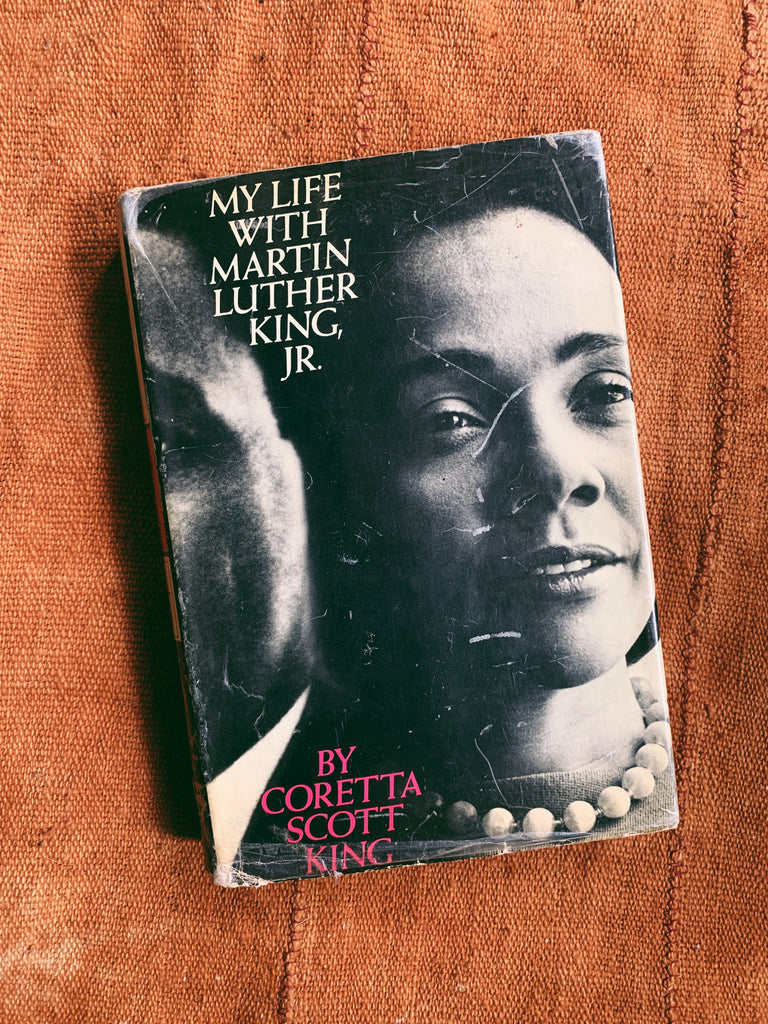 "Vintage Hardcover ""My Life With Dr. Martin Luther King, Jr."" by Coretta Scott King (First Edition, 1969)"