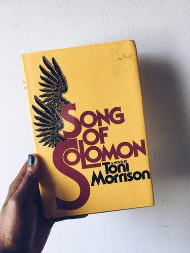 Song of Solomon by Toni Morrison (1993)