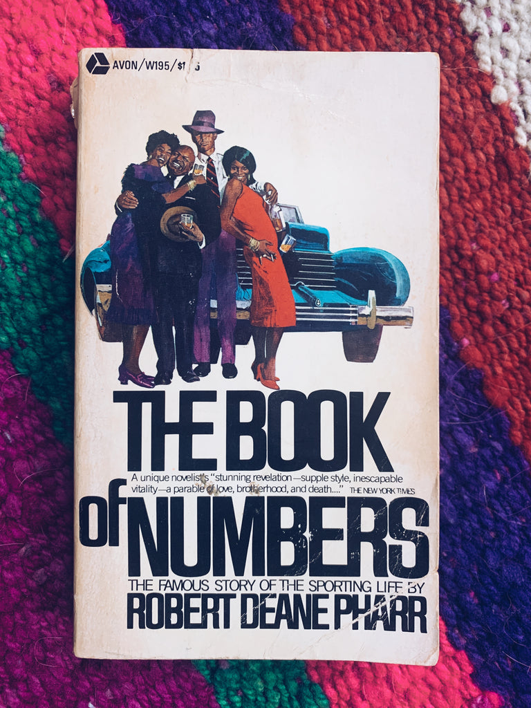 "Vintage Paperback ""The Book Of Numbers"" by Robert Deane Pharr (1970)"
