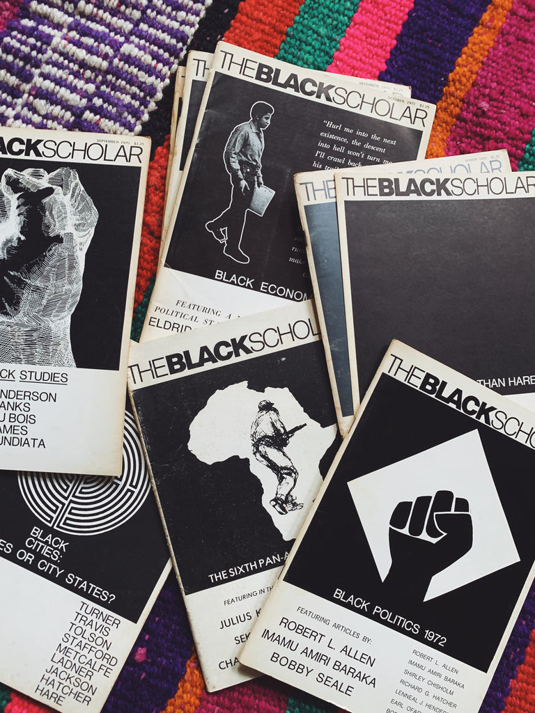Vintage 1970's Black Scholar Journal Issues (Select One)