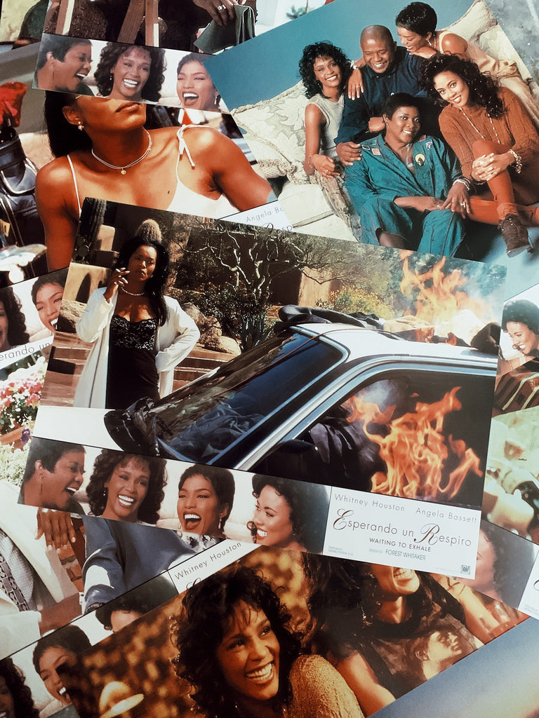 "Vintage ""Waiting To Exhale"" Promotional Lobby Card Posters (Spanish, 1995)"