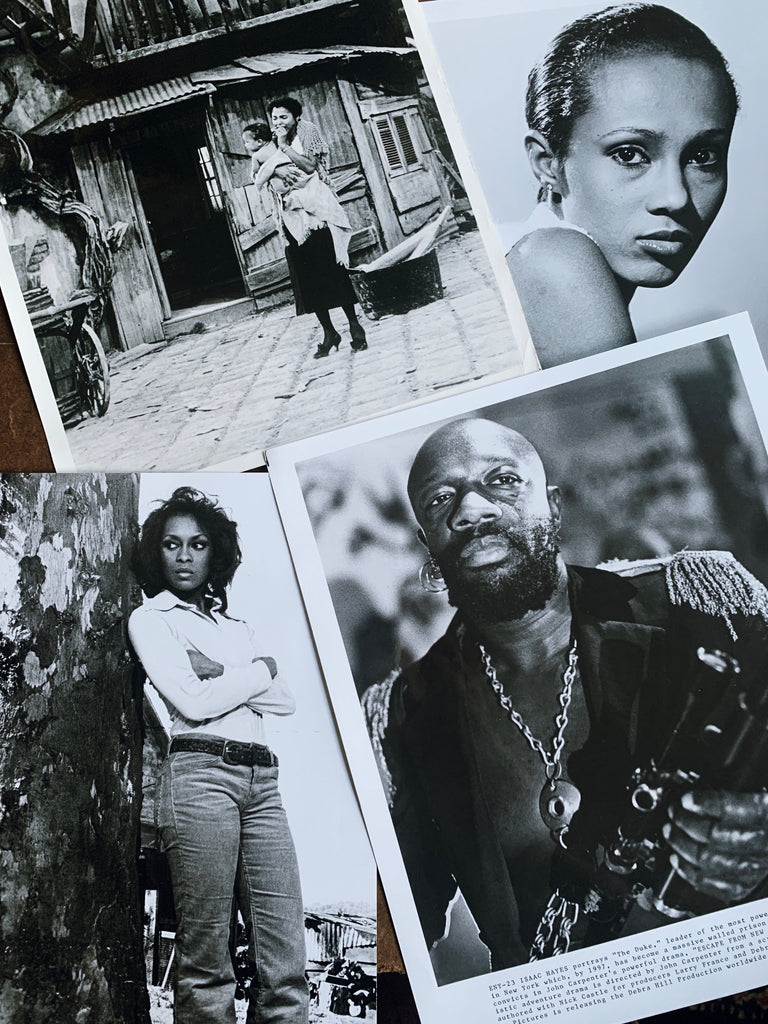 Vintage Celebrity Still Photos (Isaac Hayes, Iman, Lola Falana & Dorothy Dandridge)