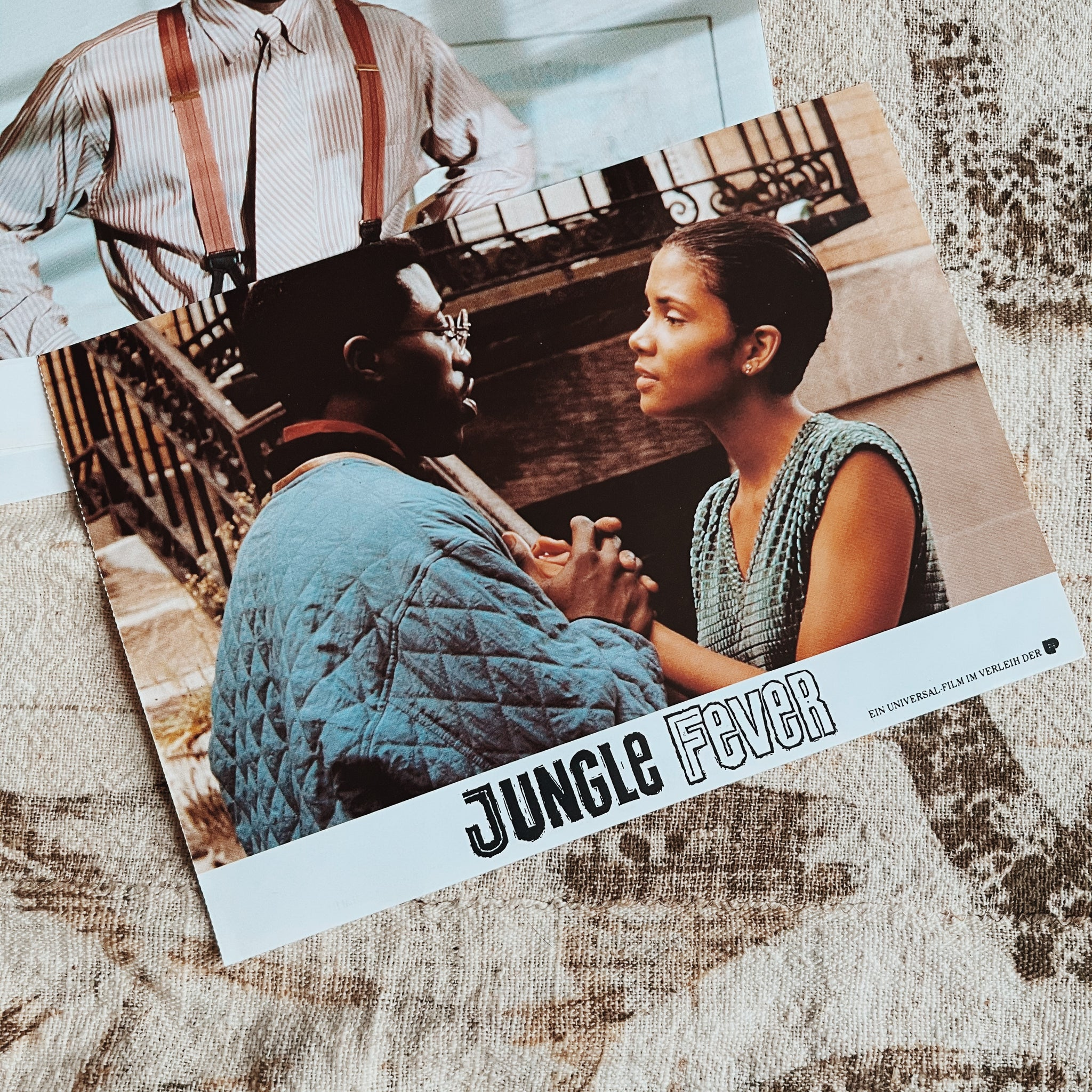 "Vintage ""Jungle Fever "" Promo Lobby Card Prints (German, 1991)"