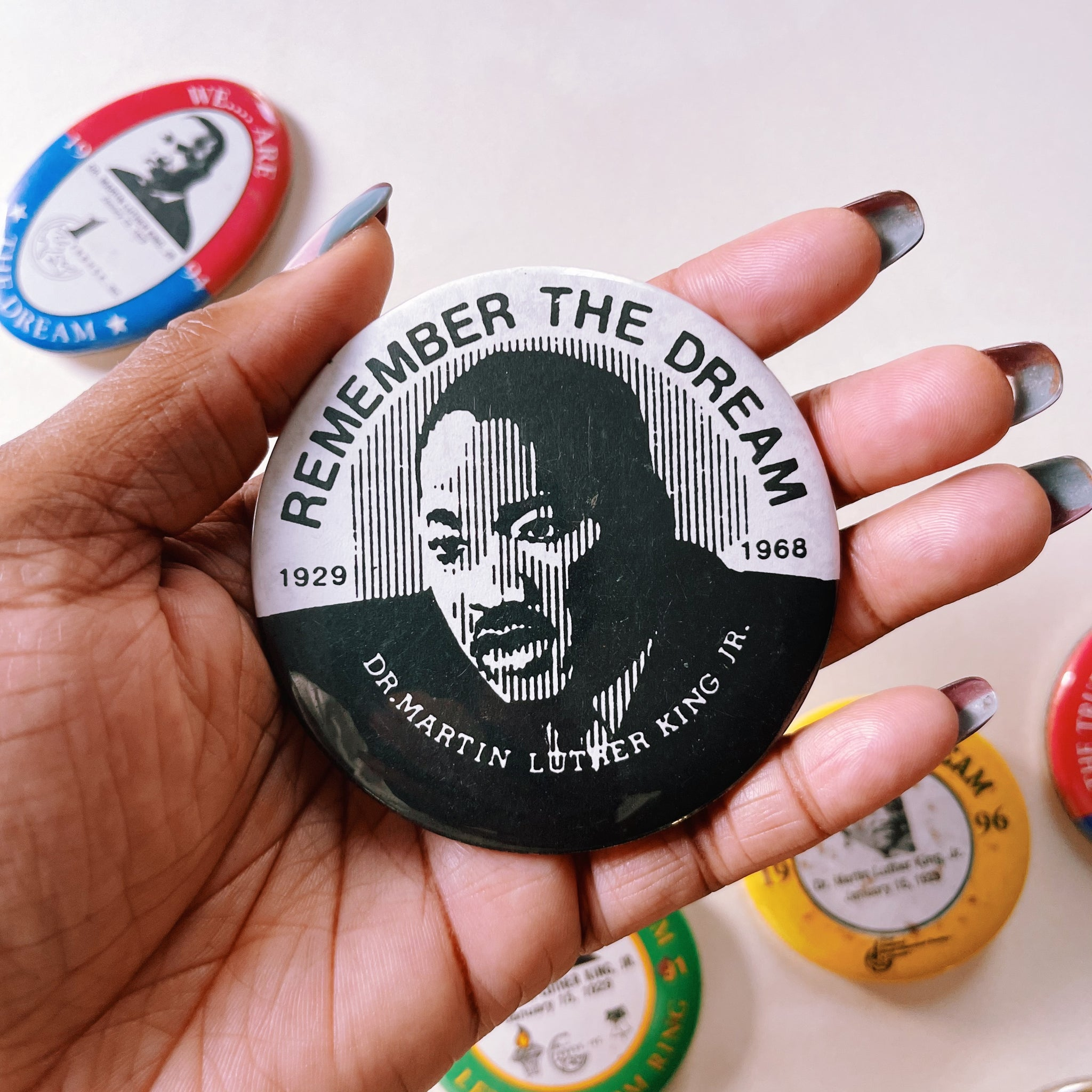 Vintage Dr. Martin Luther King Jr. Pins (Please Select)