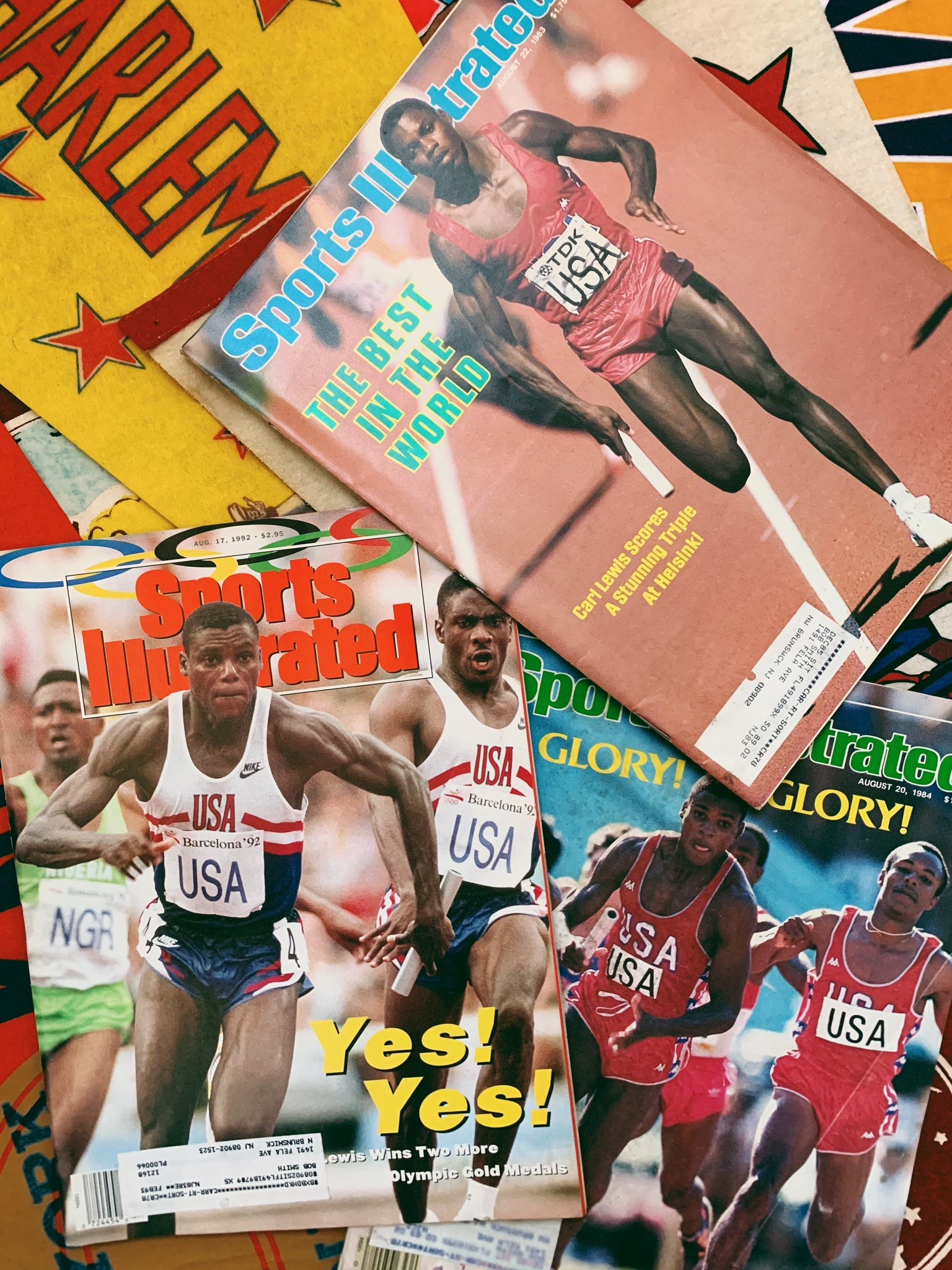 Vintage Sports Illustrated Magazine Issues // Track and Field covers (Please Select)