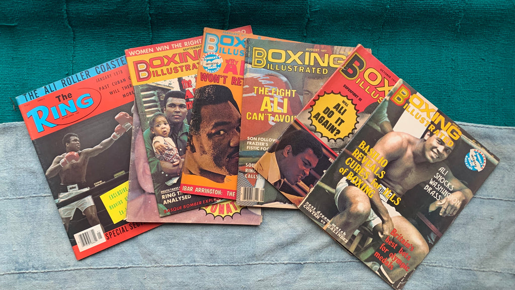 Vintage Muhammad Ali Boxing Magazine Issues (Please Select)