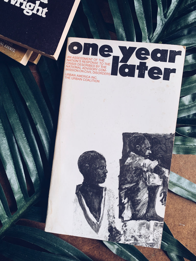 "Vintage Softcover ""One Year Later"" by Urban America & The Urban Coalition (1969)"