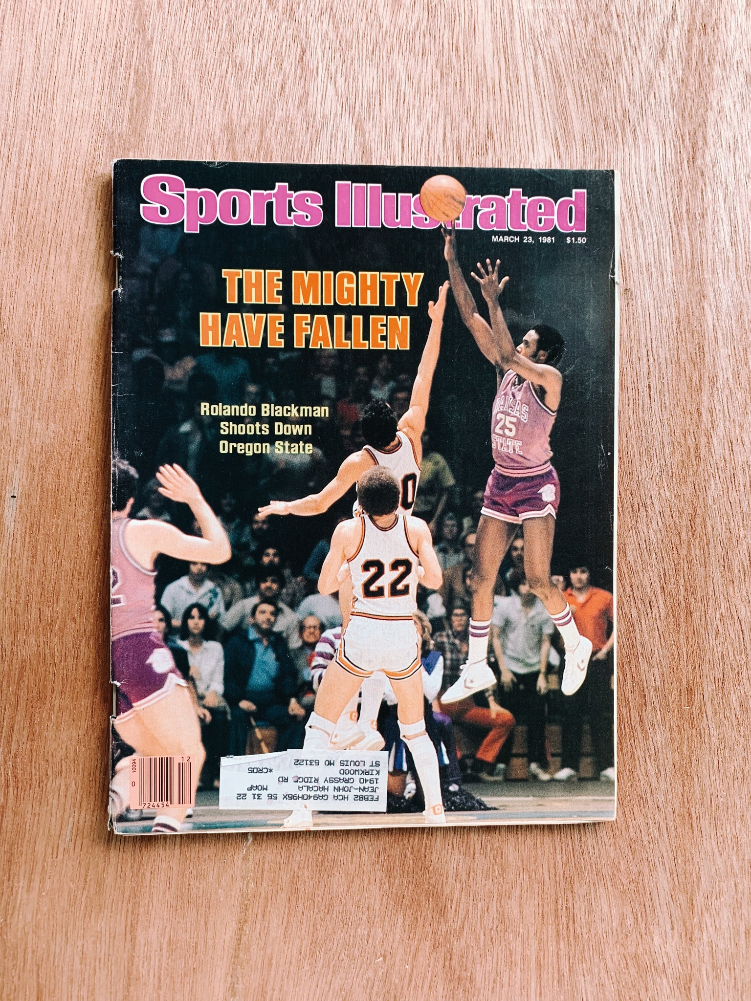 Vintage Sports Illustrated Magazine Issues (Please Select)