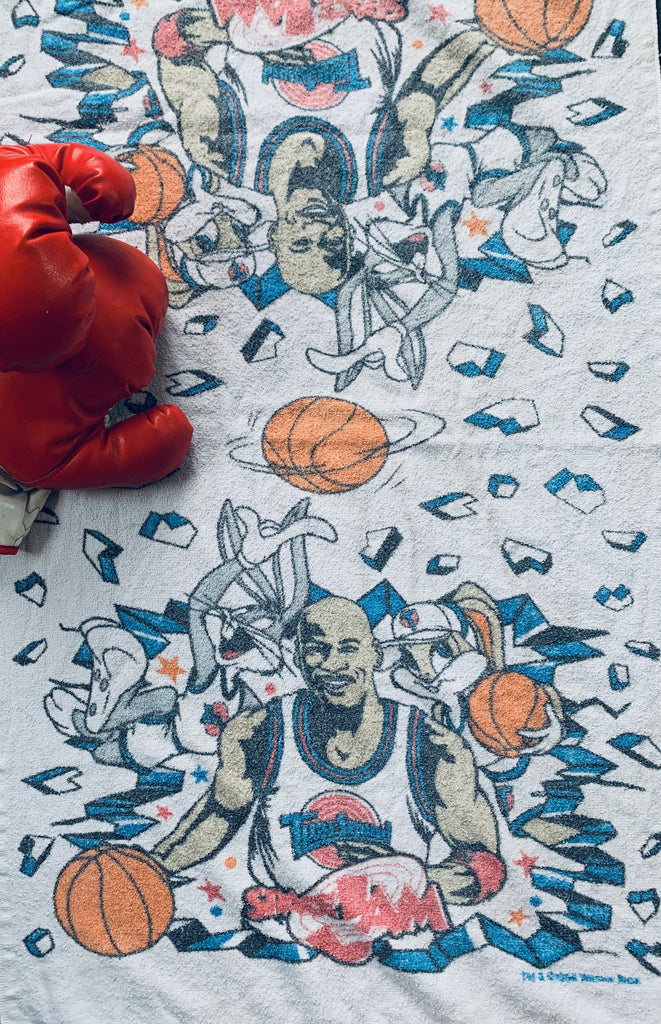 "Vintage ""Space Jam"" movie promo towel (Michael Jordan)"