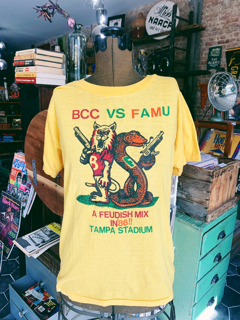 Vintage 1986 BCC vs. FAMU Football Classic Shirt