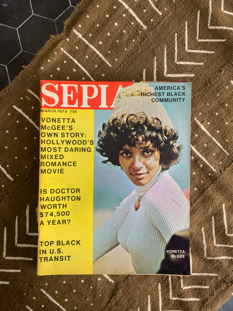 Vintage Sepia Magazine Issues (Please Select)