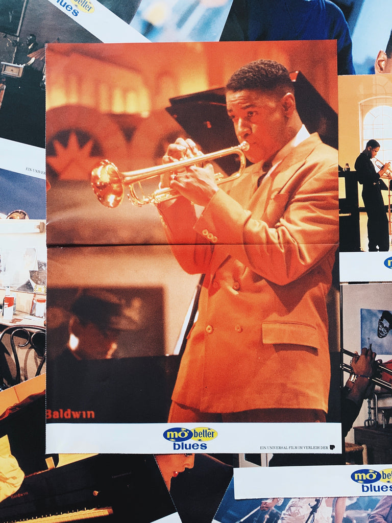 "Vintage ""Mo' Better Blues"" by Spike Lee Studio Large Posters (1990)"