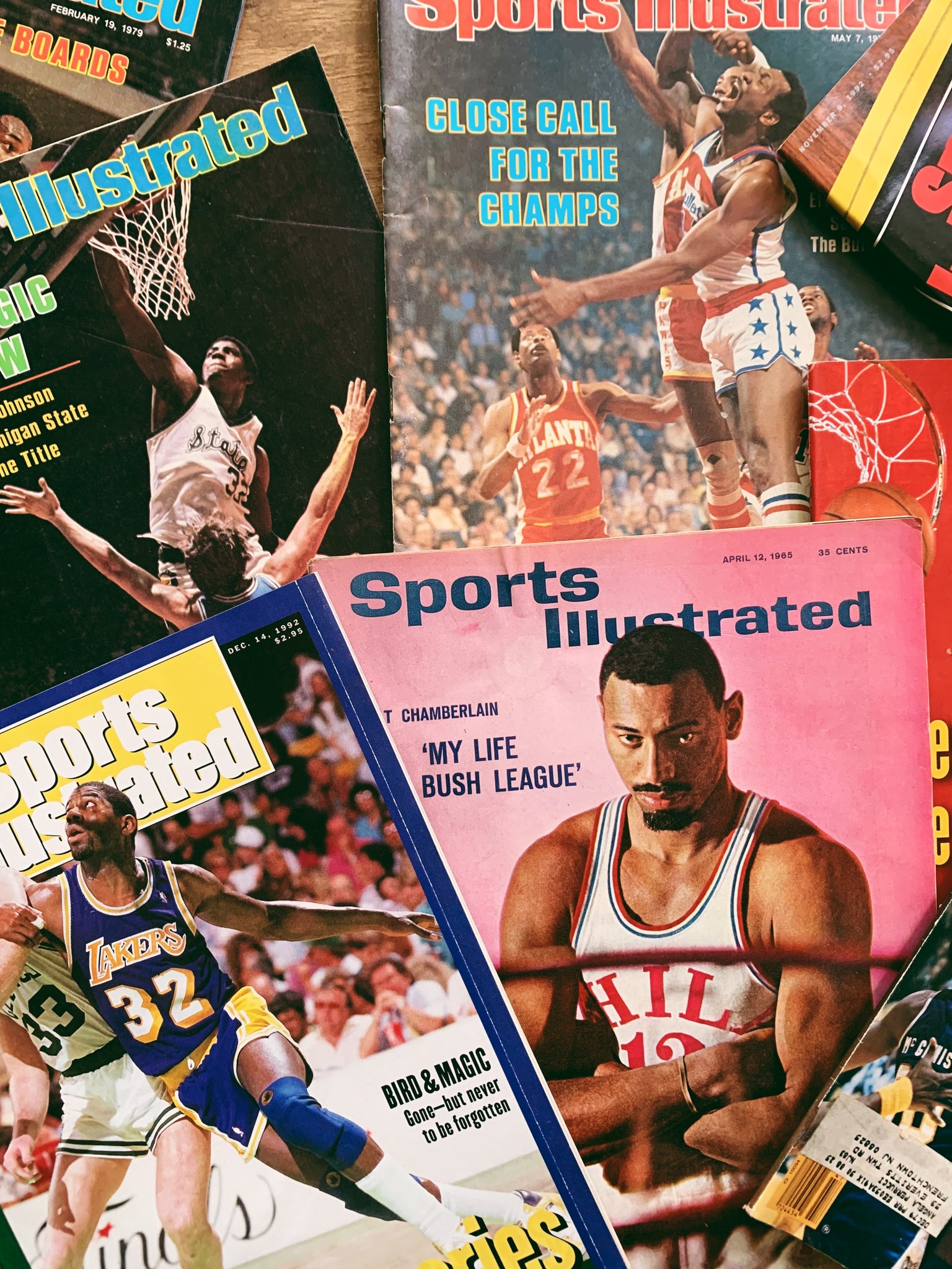 Vintage Sports Illustrated Magazine Issues // Assorted covers (Please Select)