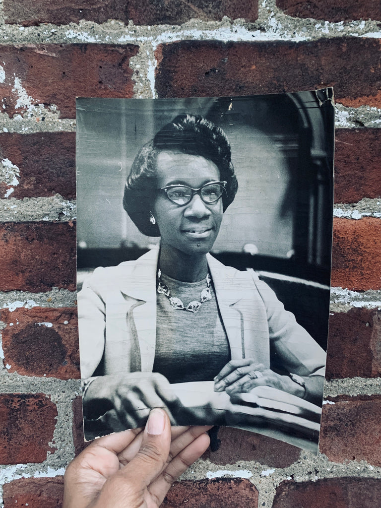 Vintage Shirley Chisholm Press/Wire Photo