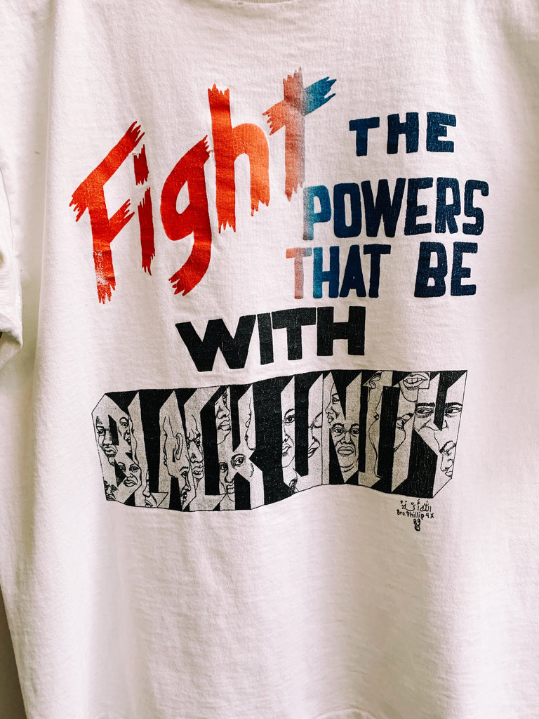 "Vintage ""Fight The Powers"" Tee (1989)"