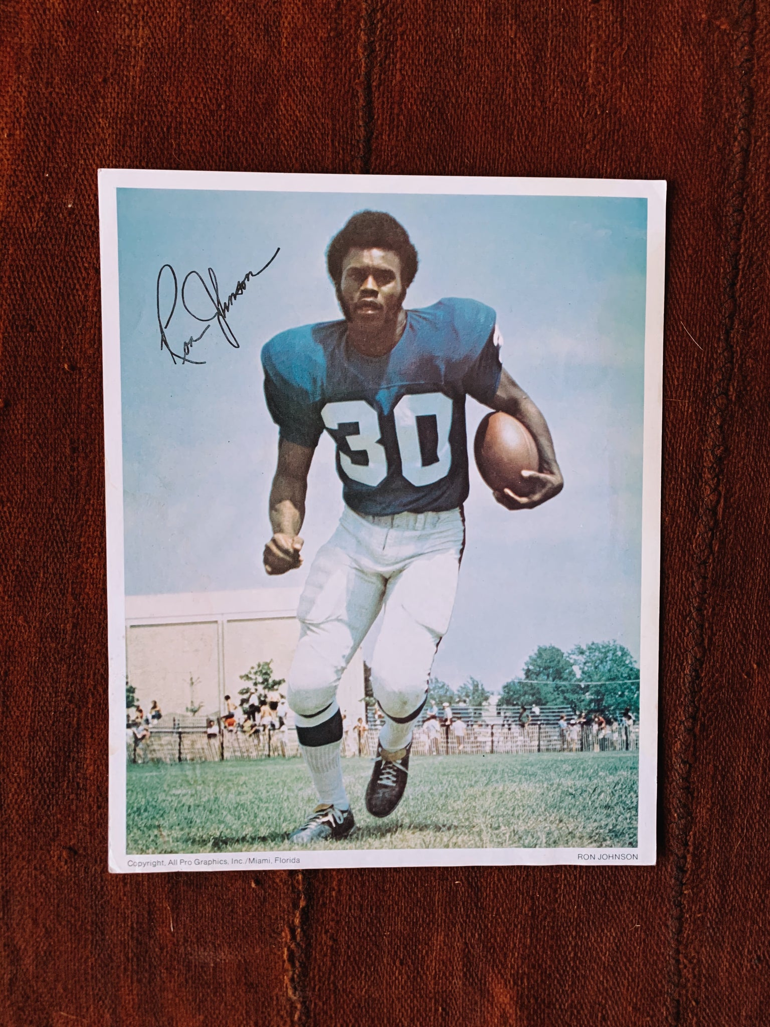 Vintage Assorted Athlete Signed Promo/Headshot