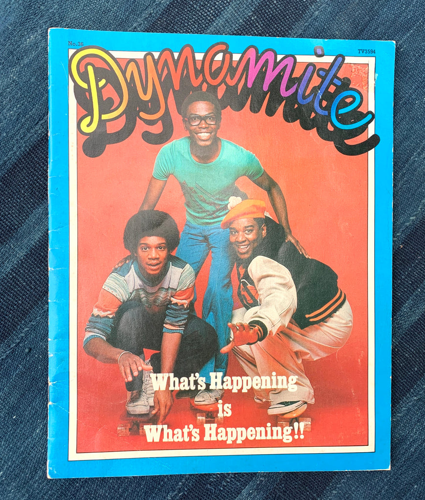 "Vintage Dynomite Magazine, ""What's Happening"" Cover (1977)"