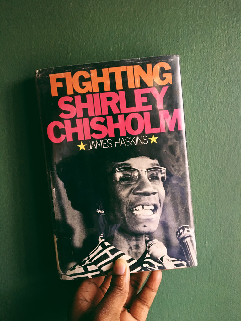 "Vintage Hardcover ""Fighting Shirley Chisholm"" by James Haskins (1975)"