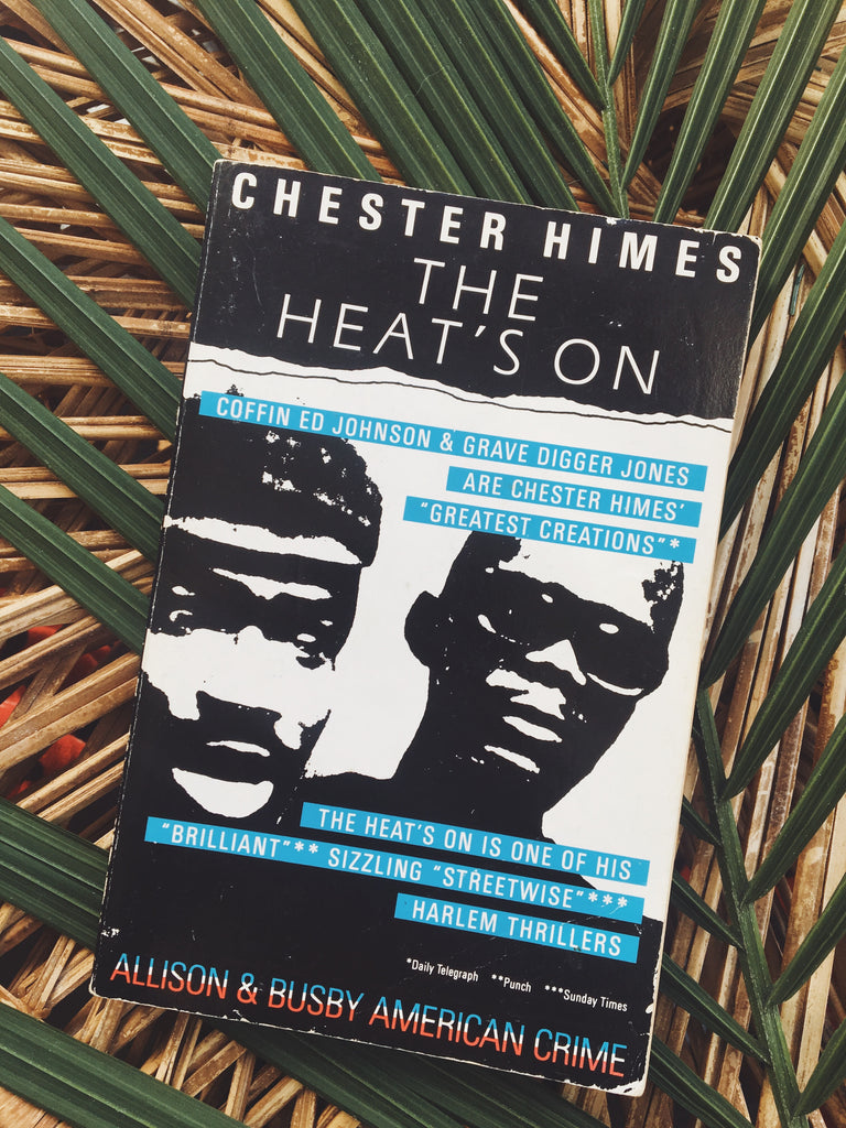 "Vintage Paperback ""The Heat's On"" by Chester Himes (1986)"