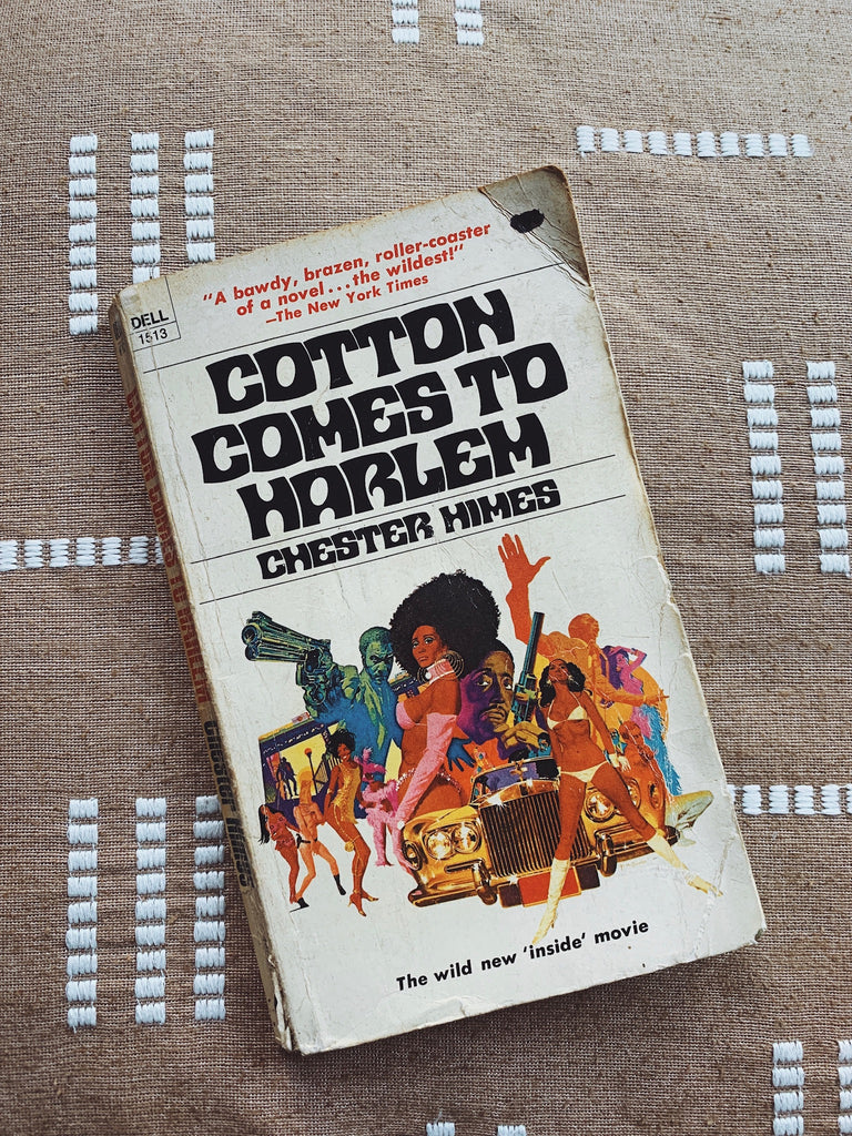"Vintage ""Cotton Comes To Harlem"" by Chester Himes (2nd Printing, 1970)"