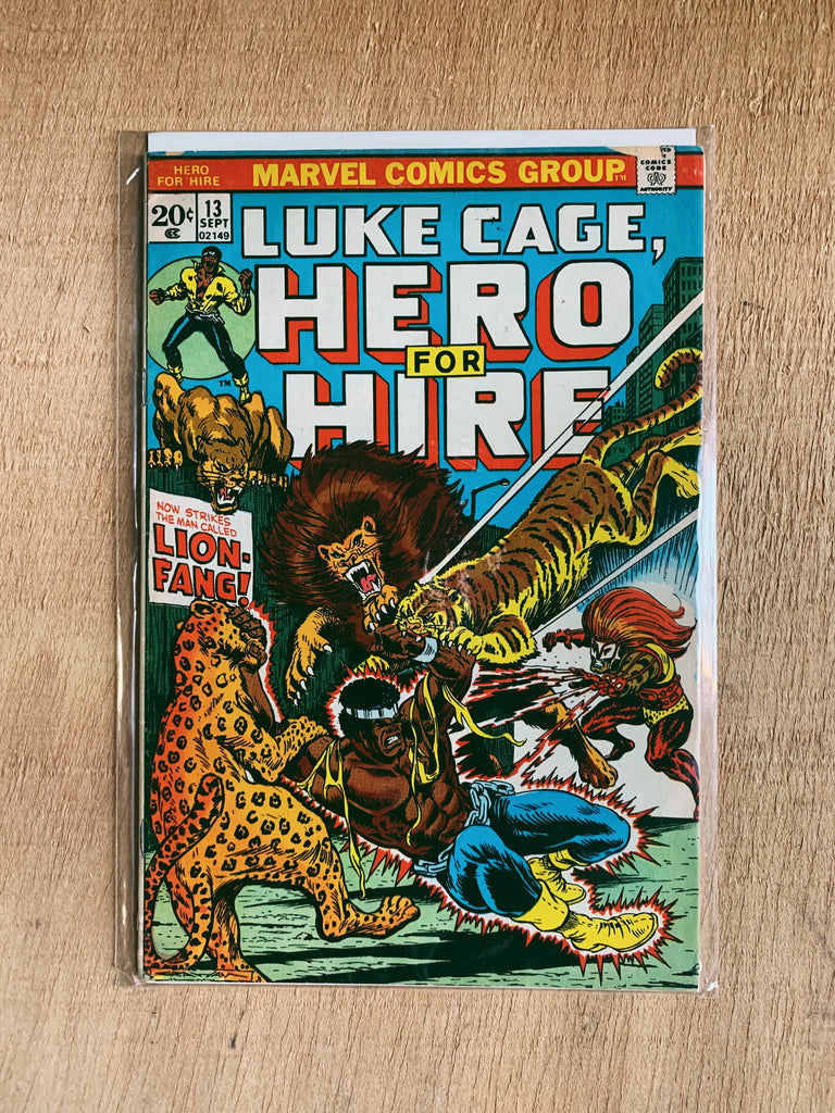 Vintage Original Luke Cage Comic Books (Please Select)