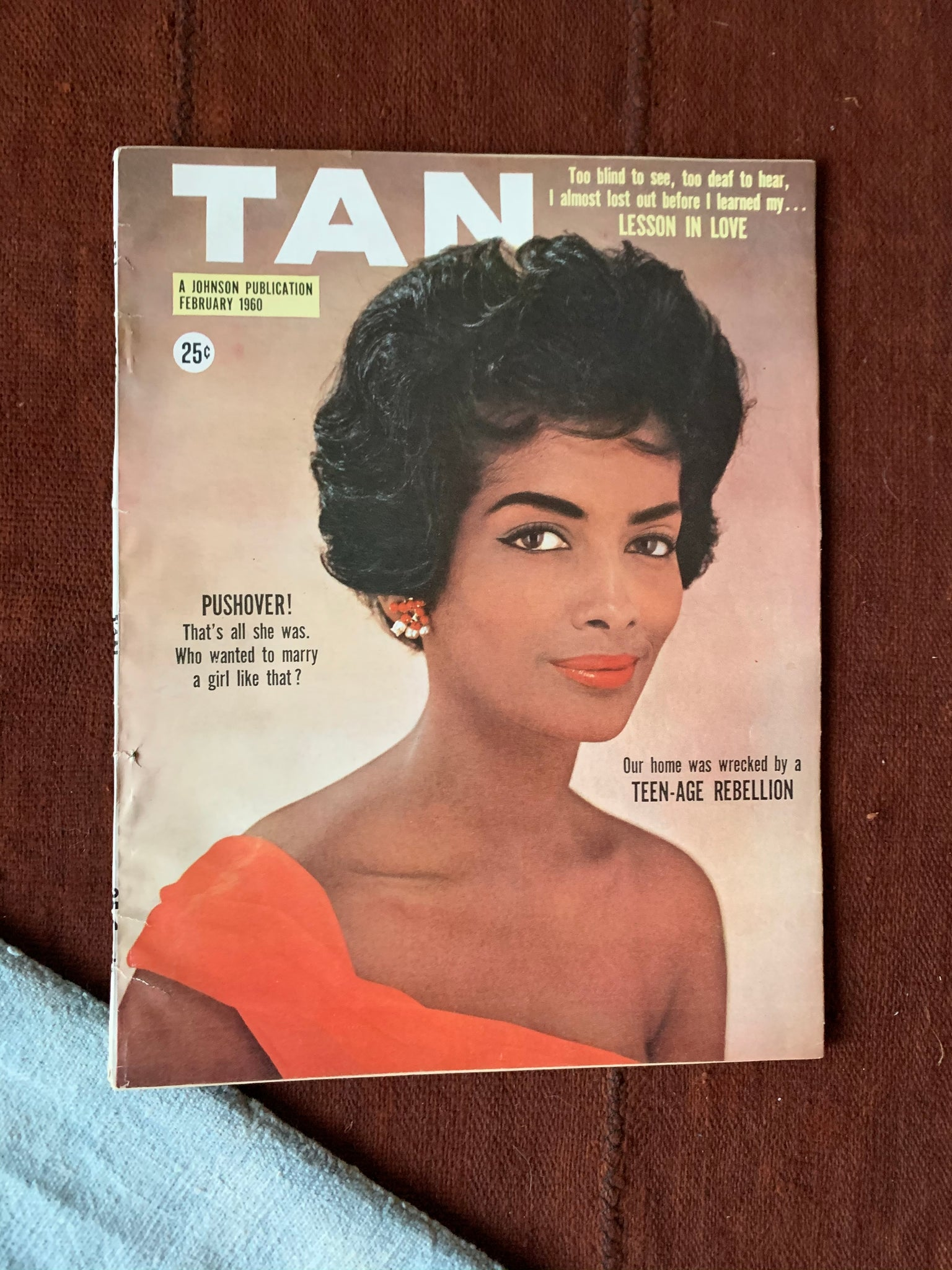 Vintage Tan Magazine // Assortment (Please Select)