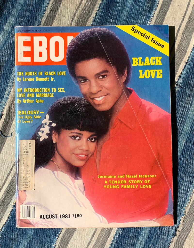 "Ebony Magazine // ""Special Edition: Black Love"" Cover Story (August, 1981)"