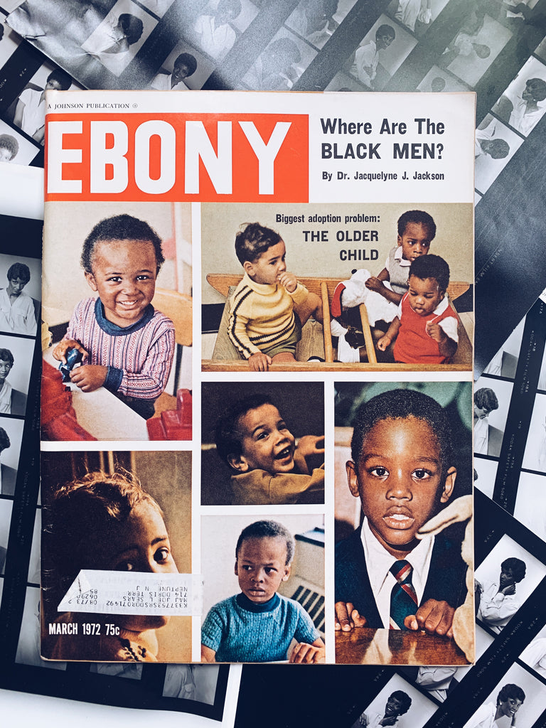 "Vintage Ebony Magazine // ""Where Are All The Black Men?"" (March 1972)"