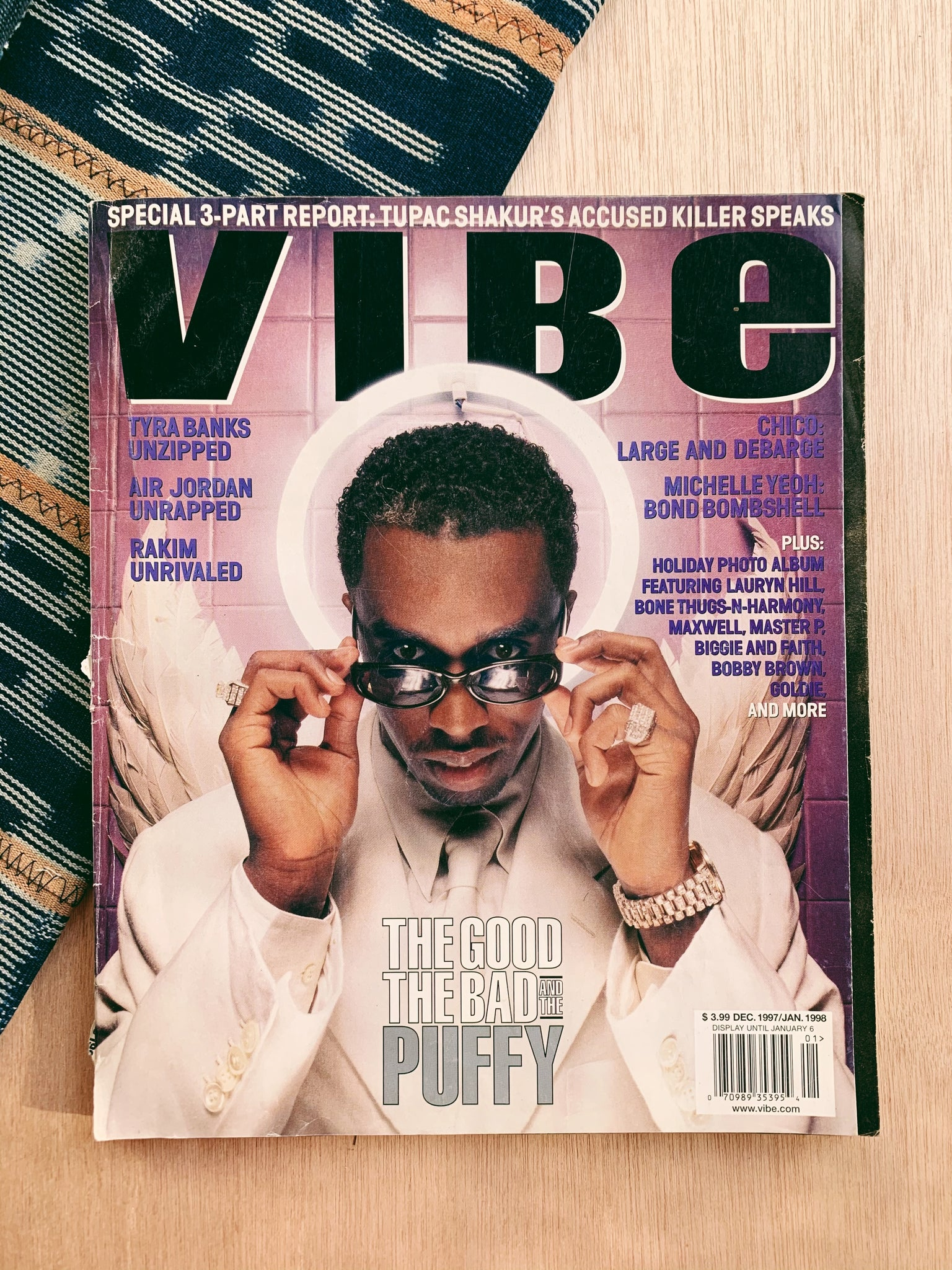 Vintage Hip-Hop Magazines // Vibe Magazine, Diddy Cover