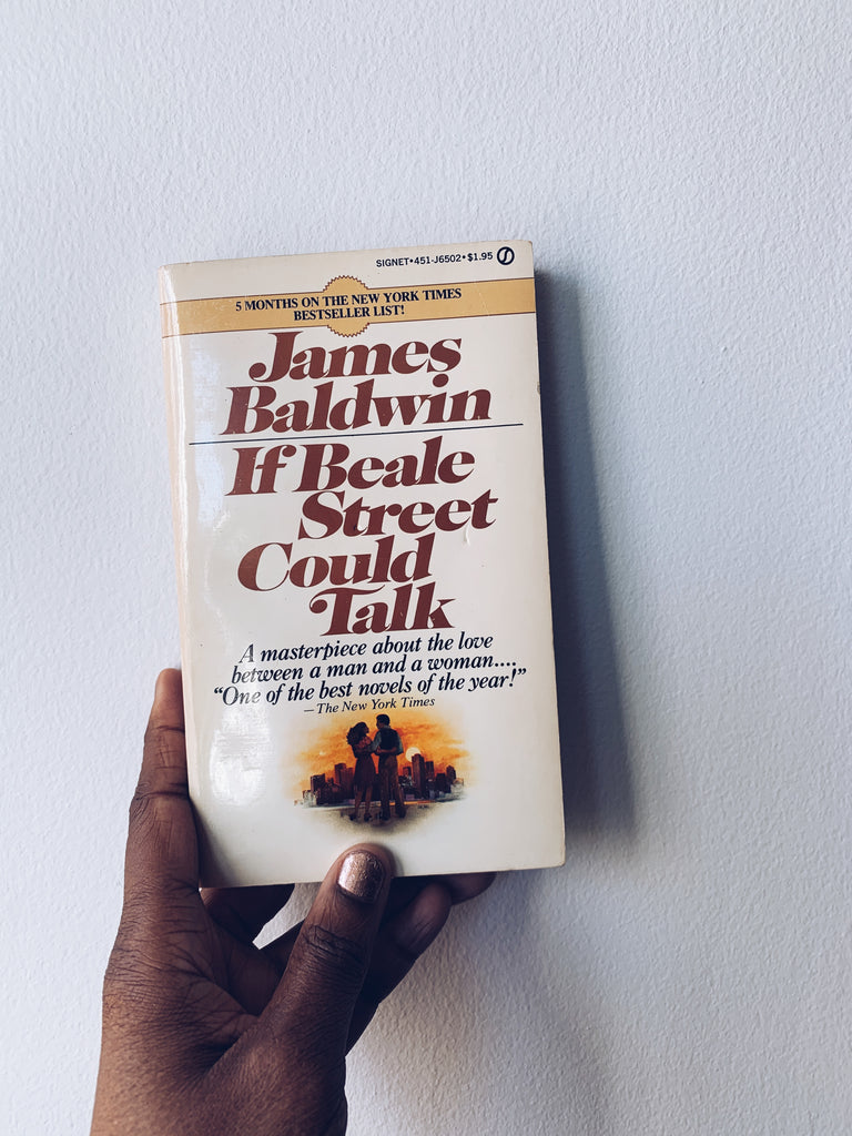 "Vintage Paperback ""If Beale Street Could Talk"" by James Baldwin (1975)"