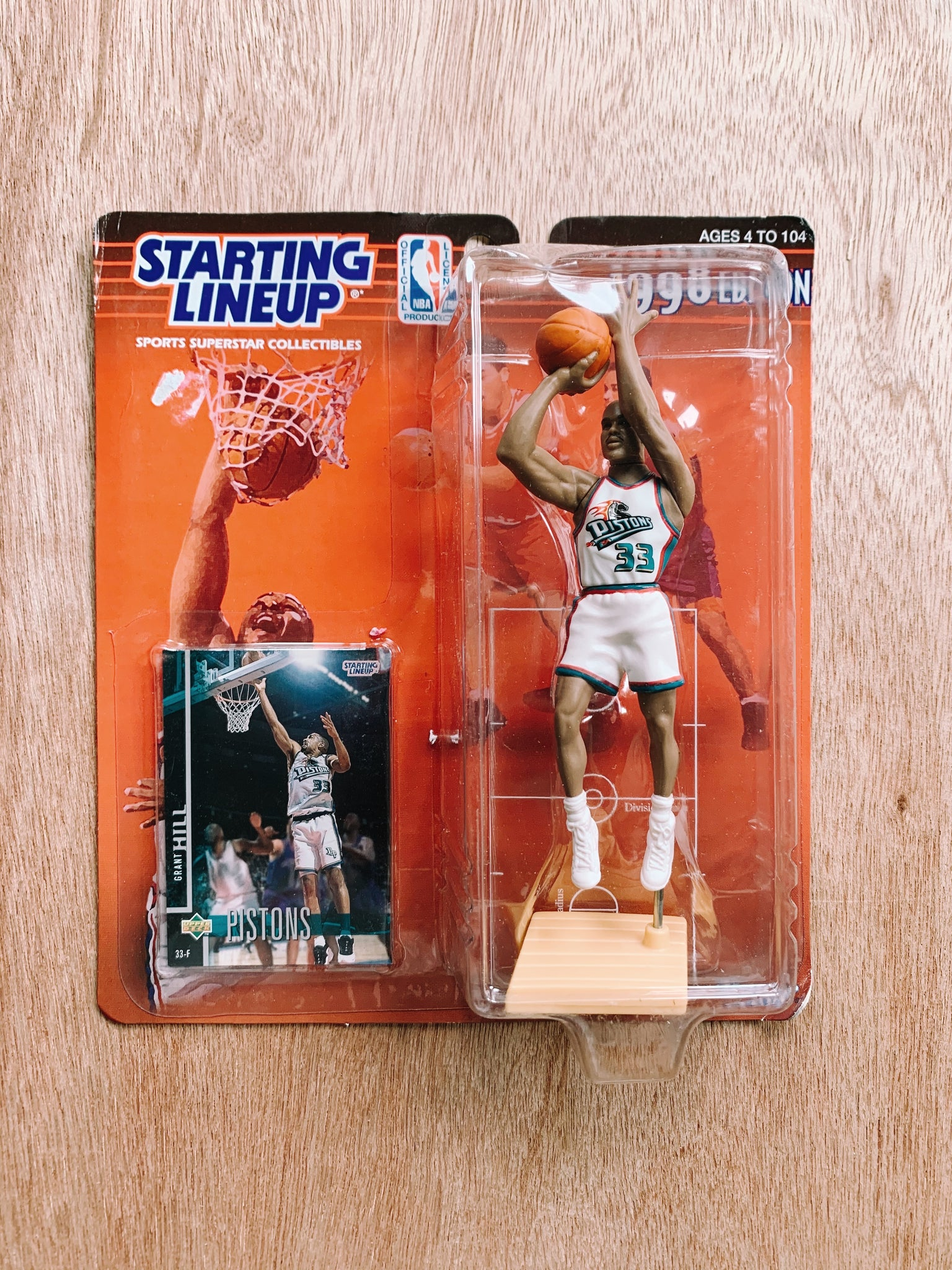 Vintage Starting Lineup Toy: Grant Hill (1990's)