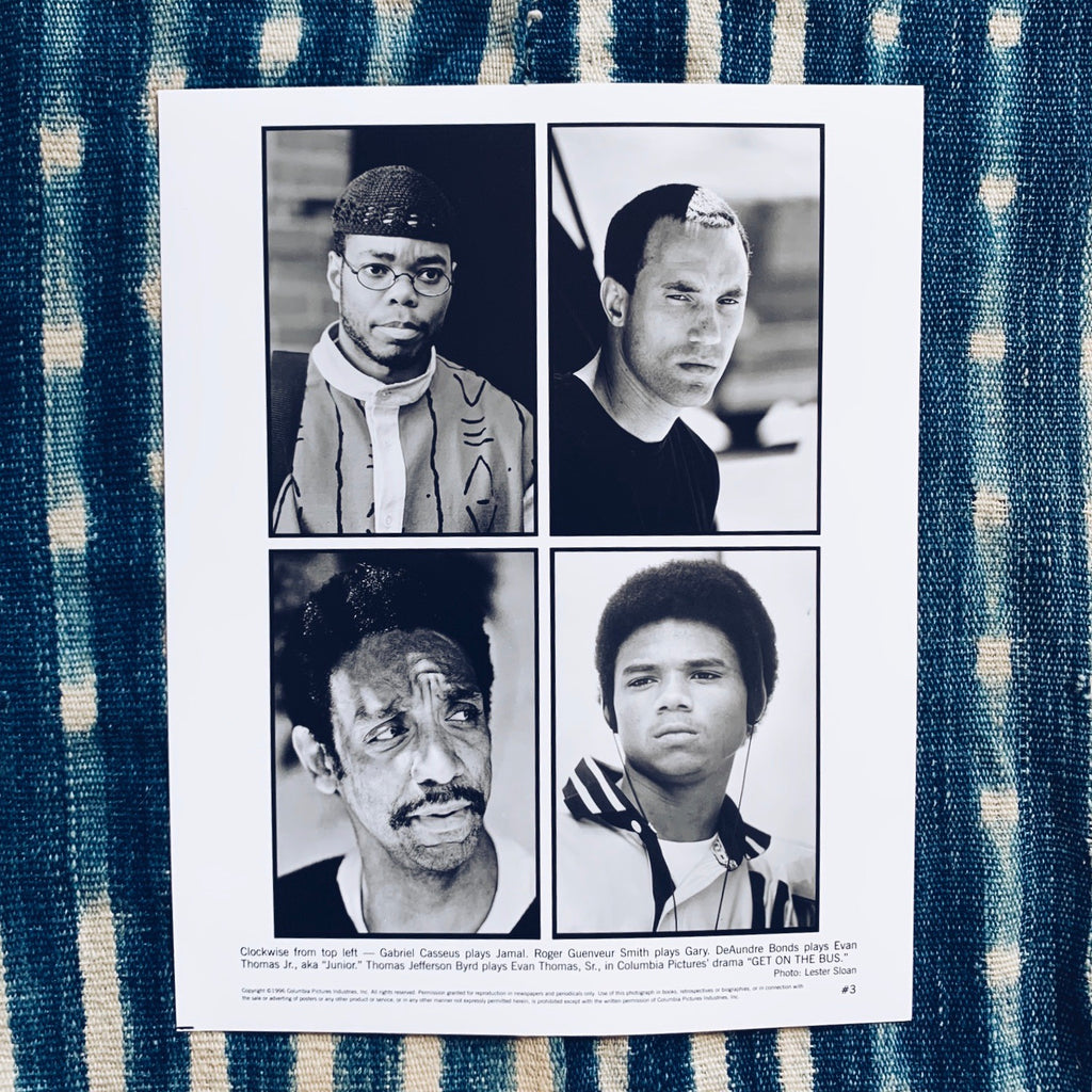 "Vintage ""Get on The Bus"" by Spike Lee Original Studio/Promotional Still Photos (1996)"
