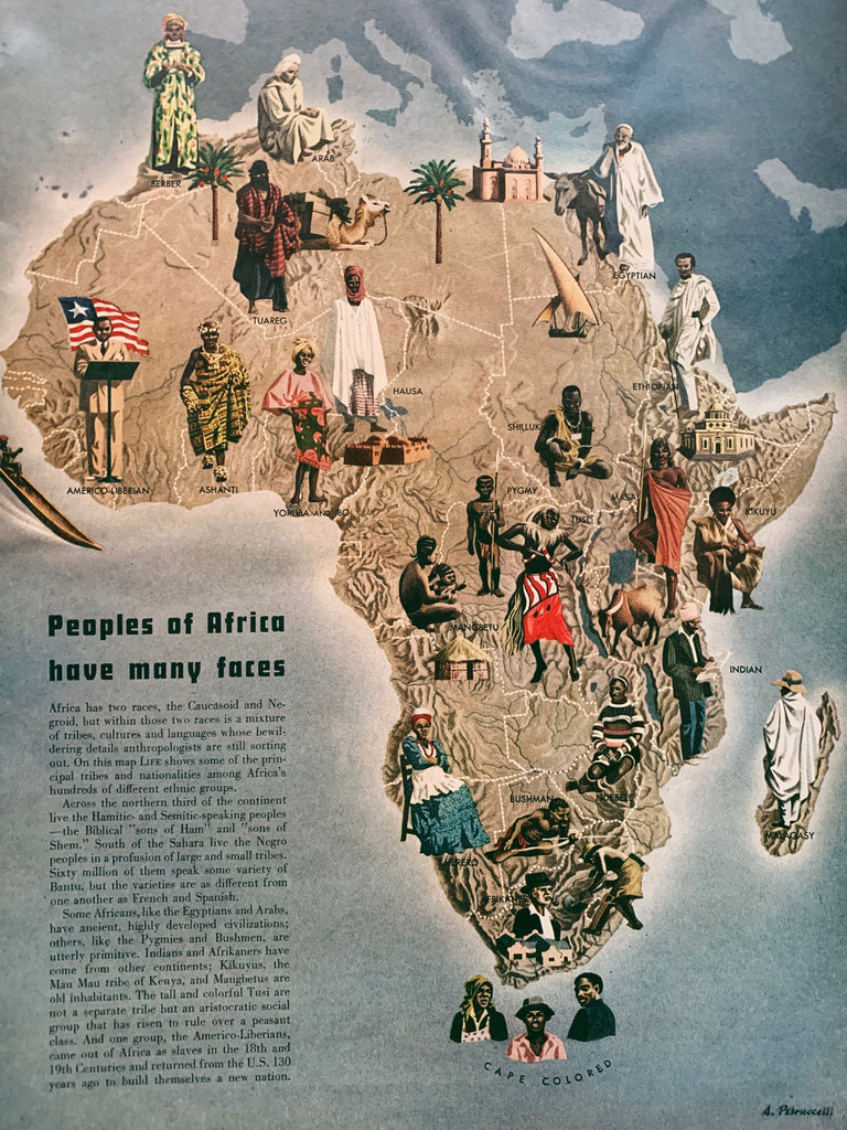 Vintage LIFE Magazine // Africa Issue (May 1953)