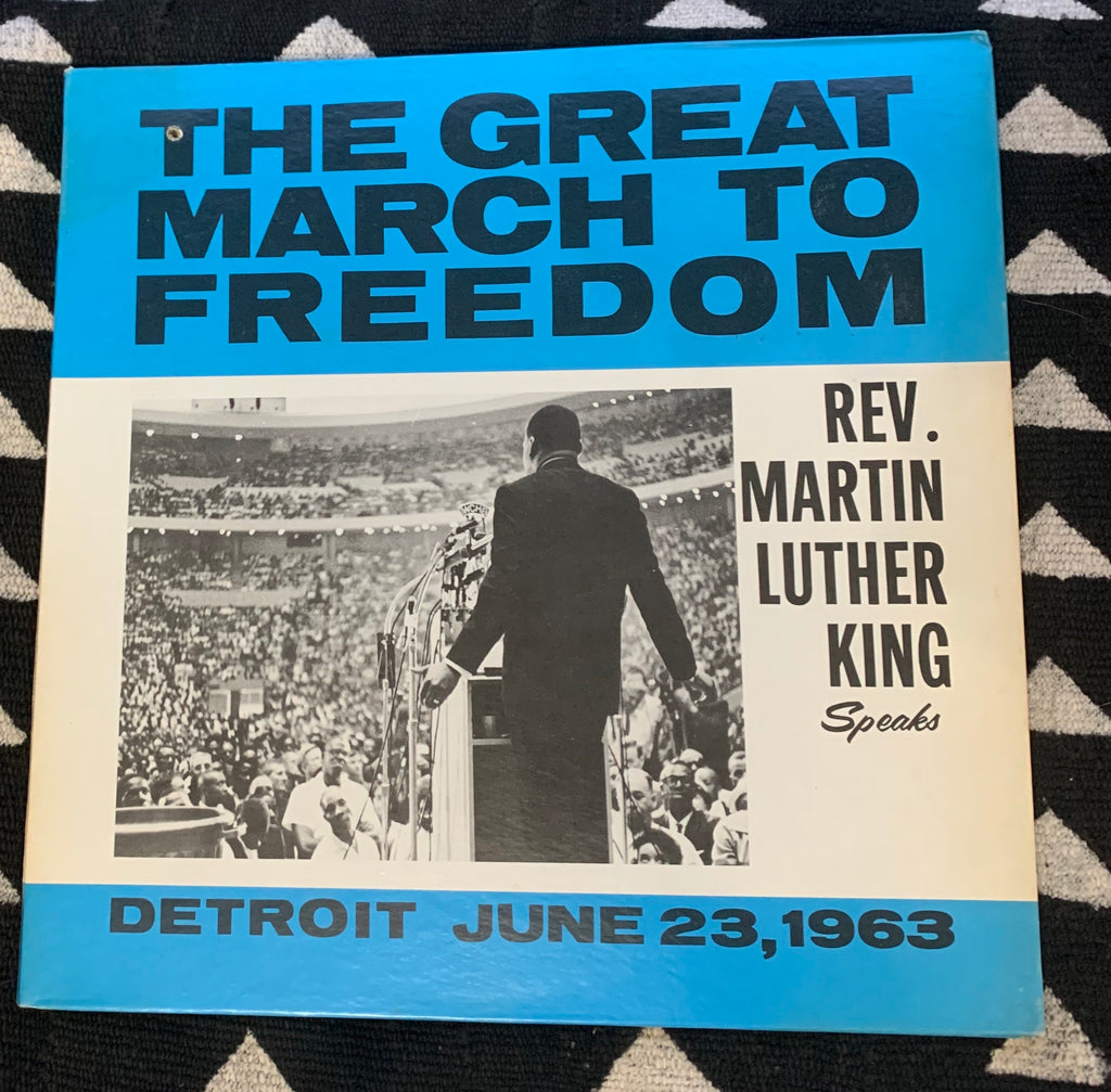 "Vintage ""The Great March To Freedom"" Vinyl LP (1963)"