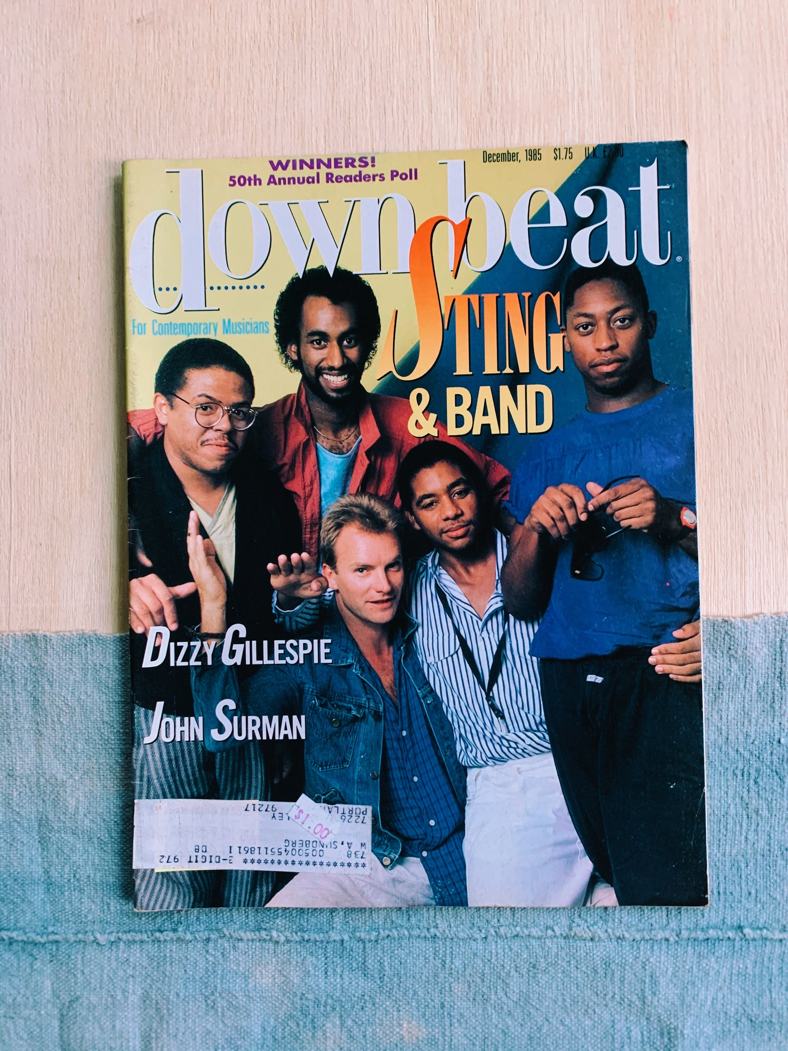 Vintage Downbeat Magazine // Assorted Covers