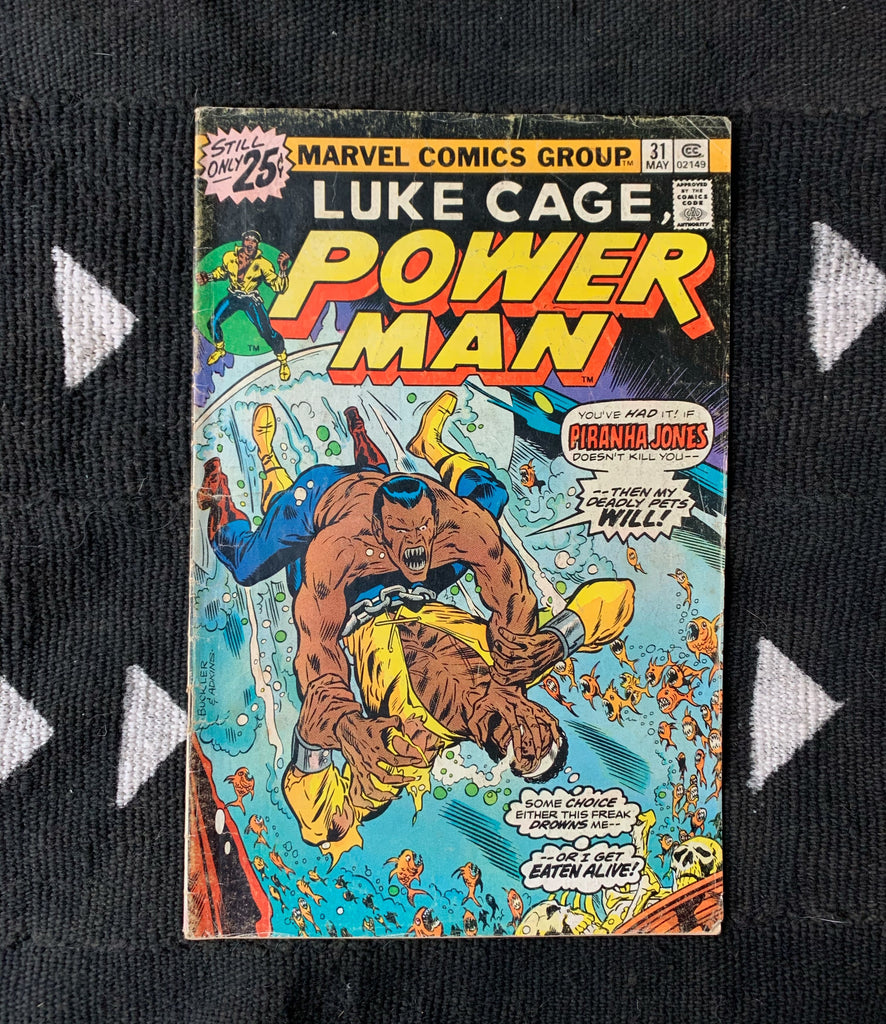 Vintage Luke Cage // 'Power Man' Comic Books (Please Select)
