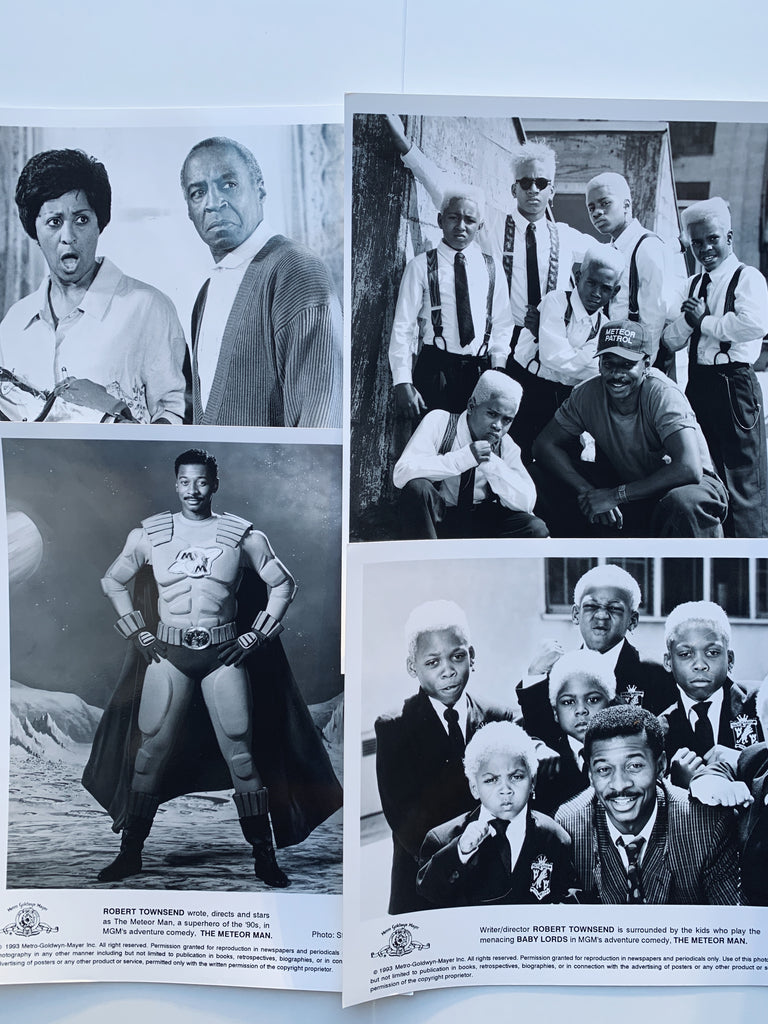 "Vintage 1993 ""Meteor Man"" Studio/Promotional Still Photos"