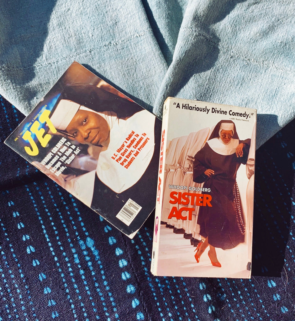 Vintage 1992 Sister Act Film Bundle (VHS & Magazine)