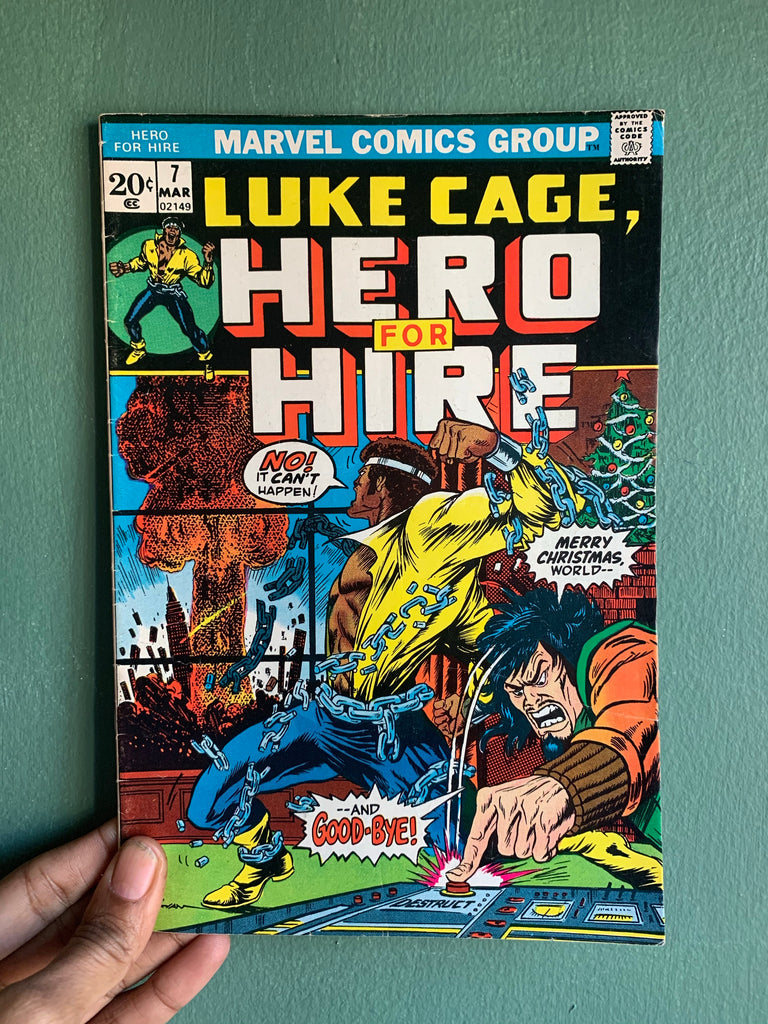 Vintage Luke Cage // 'Hero For Hire' Comic Books (Please Select)