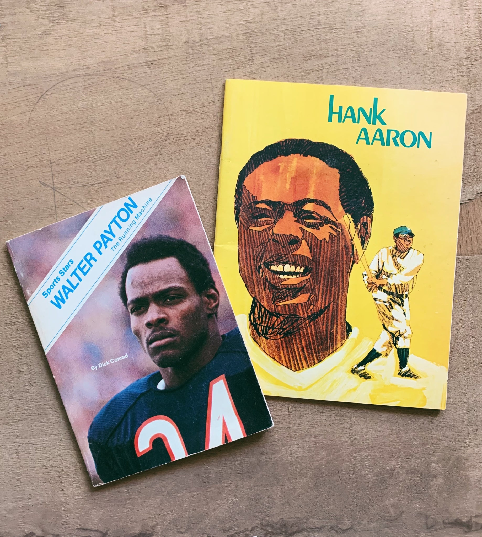 Assorted Vintage Sports Books (Please Select)