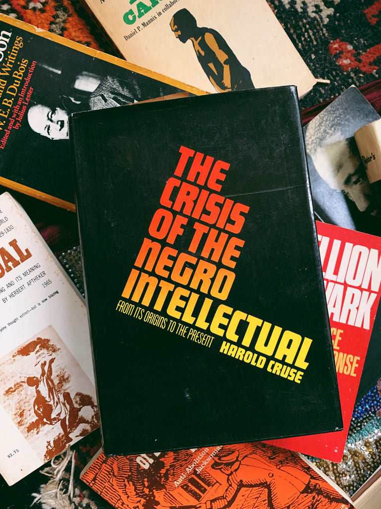"Vintage Hardcover ""The Crisis of The Negro Intellectual"" by Harold Cruse (Second Printing, 1968)"