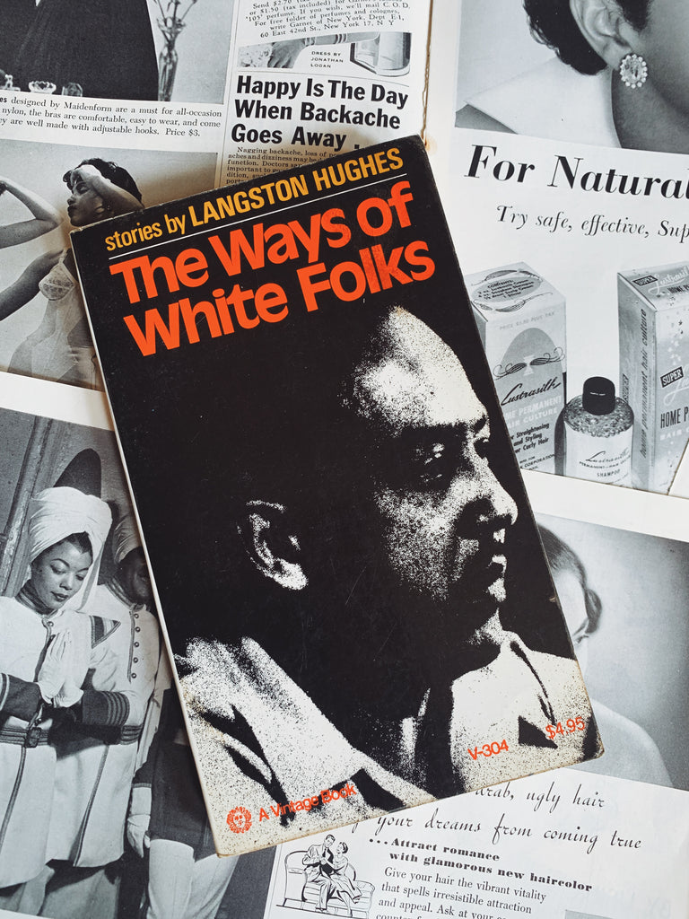 "Vintage ""The Ways of White Folks"" by Langston Hughes (First Edition, 1971)"
