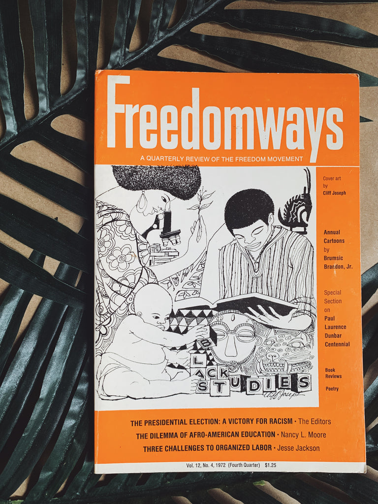 Vintage Freedomways Journal (From Personal Collection of Paul Robeson Jr.), 1972
